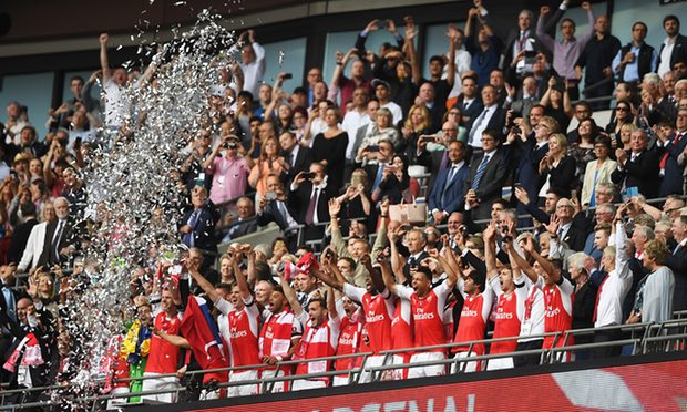 Arsenal wins the FA Cup Final after crushing Chelsea