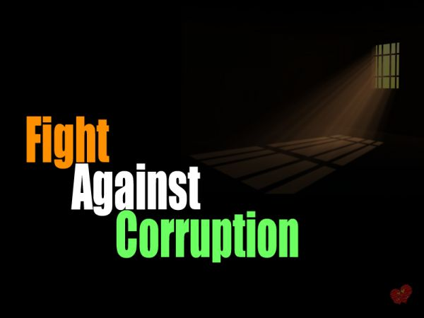 Selective fight against corruption is 100 percent better than no fight at all and I will tell you why