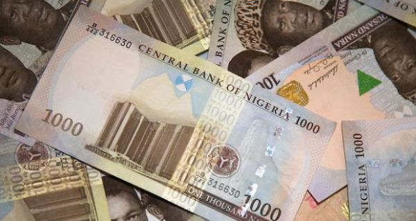 Is the naira being defended at all by the CBN or is it on a free fall?